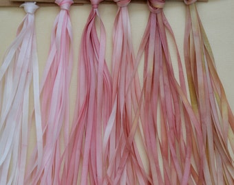 Victorian Pinks - 4mm silk ribbon collection