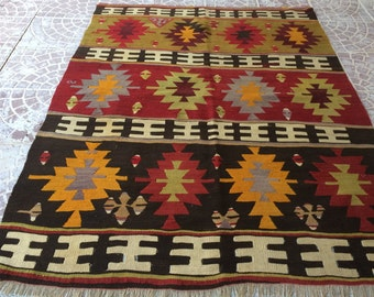 Vintage Turkish capadocia   rug  61x48