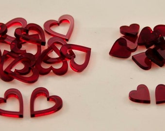 Love letter game heart tokens
