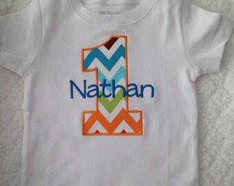 Birthday Shirt - First Birthday Shirt - Cake Smash Shirt  Embroidered Birthday Shirt - Personalized Birthday Shirt - 1st Birthday Boys Girls