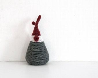 15% off - Crochet chicken door stopper / baby back supporters, Door Stop, wool doorstop