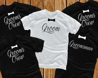 Groom t shirts (8) groom gift Bachelor Party wedding t shirts groomsmen t shirts groomsmen gift Best Man Shirt Groom Drinking Team groomsman