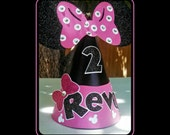 Minnie Mouse Personalized Party Hat