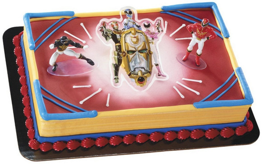 Power Rangers Cake Figures