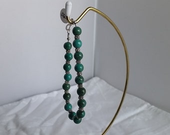 Chalk Turquoise Beaded Bracelet  009J