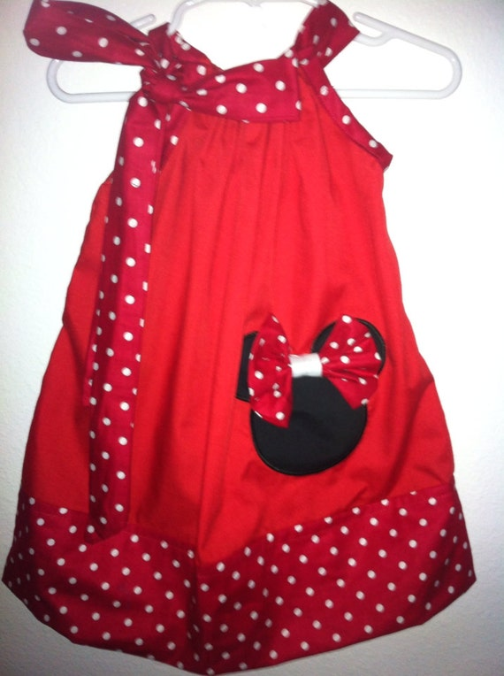 Cute Ideas For Pillowcase Dresses : A cute Minnie pillowcase dress