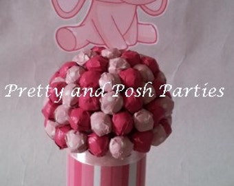 Elephant Candy Bouquets (Pink)