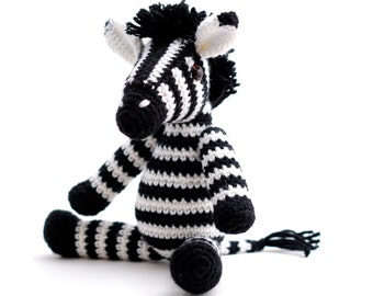 Crochet pattern Zebra - amigurumi - instant download pdf