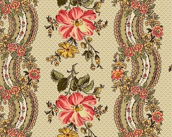 Romantic Renaissance - Pink Wallpaper - 1/2yd