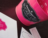 Bachelorette Bucket List - Bachelorette Party Challenge