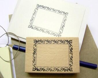 Rubberstamp - baroque frame