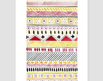 "Art print ""folklore No.20"""