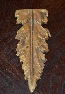 Popular items for acanthus leaves on etsy for Acanthus leaf decoration