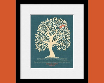 Gift Print for Groom's Mother, Wedding Day Gift for Grooms Mom, Groom's Gift to His Mom, Thank You Gift For Groom's Mom, Wedding Tree Print