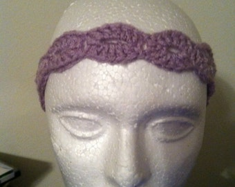 Headband (light purple), woman's headband, child headband, tie headband