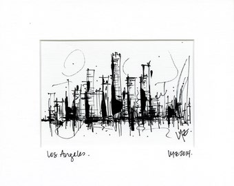 Downtown Los Angeles: 8x10