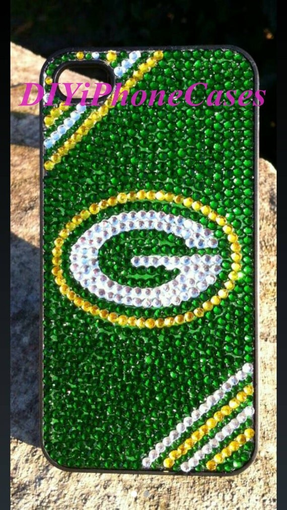 iPhone 5s Case green bay packer Bling Phone Cover Galaxy s4 Case ...