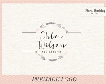 Custom Logo Design Premade Logo and Watermark - FB133
