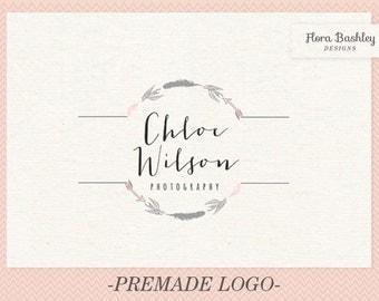 Custom Logo Design Premade Logo and Watermark - FB133