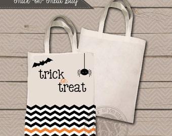 Trick or Treat Bag - Halloween Bag - Design Your Own