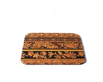 mouse pad, paisley, fabrics, handmade
