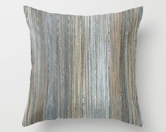 Contemporary Chaos III, Pillow Cover,16x16,18x18,20x20 home decoration, brown,white,grey,graphics,modern design, home decor, interior design