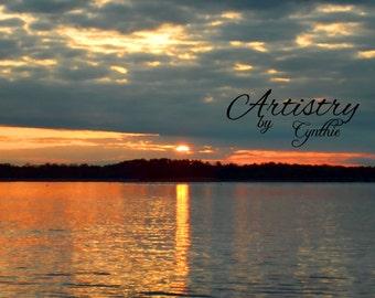 Lake Decor, Lake photography, Lake sunset, Lake wall art, Nature Photography, Landscape, Wall Art, Decor