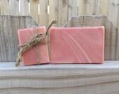 Handmade English Rose & Sandalwood Goat's Milk Soap