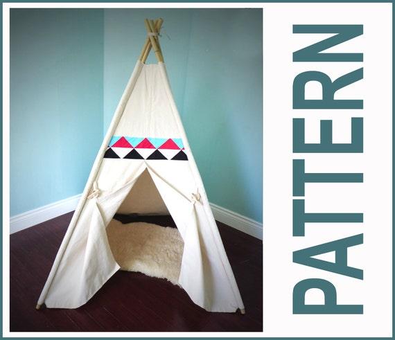 tipi tente motif bonus patchwork patron inclus facile par. Black Bedroom Furniture Sets. Home Design Ideas