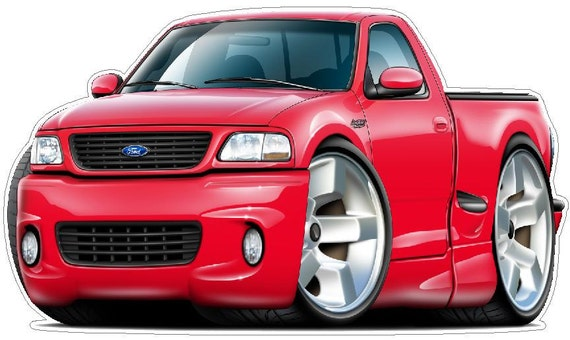 FORD LIGHTNING TRUCK Vinyl Decal Wall Graphic Officially