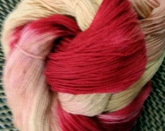 100% Superwash Merino Hand Dyed Sock Weight Yarn - Hawaiian Sunset