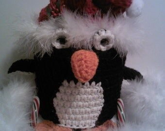 toilet paper cover,penguin,Christmas,holidays,Santa clause,
