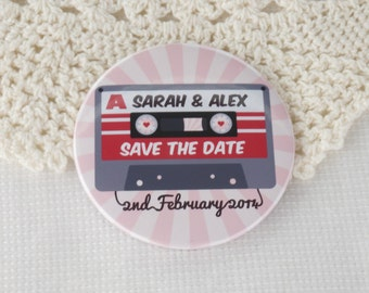 Wedding Vinyl Record Save The Date Magnets By Lovemedodesign