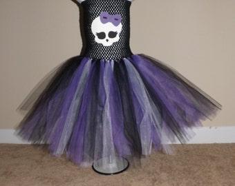 1 Monster High inspired tutu costume
