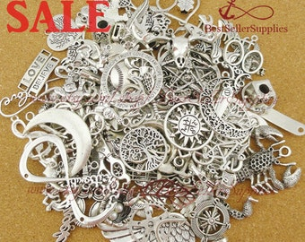 ON SALE, Miscellaneous Charms, Jewelry Pendants, Perfect for Bracelets, Necklaces, Earrings, Anklets etc., Fittings, Accessories, Supplies