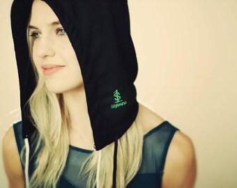 Trendy women's hoods