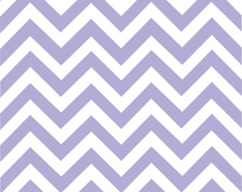 Lavender chevron craft  vinyl sheet - HTV or Adhesive Vinyl -  lavender and white large zig zag pattern   HTV105
