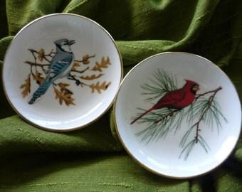 Staffordshire Bird Plates