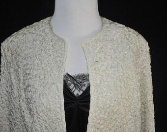 Vinatge 1950's Ribbon Evening Jacket