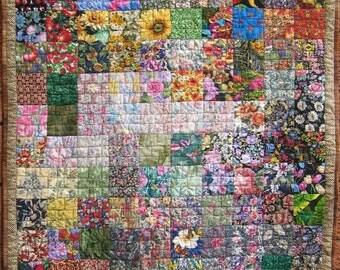 My Charm Garden Quilt