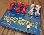 Interstellar Watermelon 2 - Filter pedal for guitar or bass