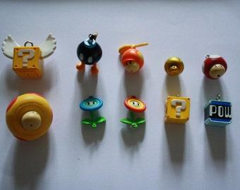 Super Mario figure necklace/choker