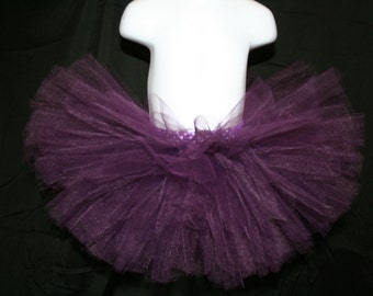 Dark Purple Tutu, Plum Tutu,Tutu Skirts, Children's Tutu Skirts, Eggplant Tutu, Plum Tutu, Purple Tutu Skirt, Newborn to Children Tutu