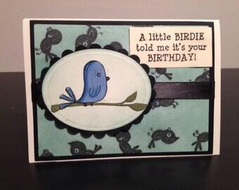 Birdie birthday!