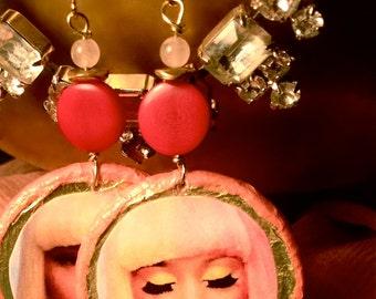 Super Brass (Nicki Minaj Earrings)