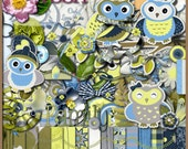 Owl Love You Always - Digital Scrapbooking Kit