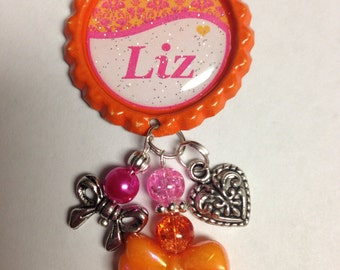 Personalized Retractable ID Badge Reels