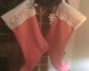 Personalized Extra Large Christmas Stocking