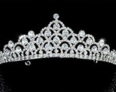 Exquisite Bridal Wedding Pageant Sparkling Crystal Tiara (501)
