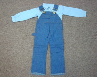 "Grandpa Doll 24"" Overalls & Shirt Outfit"